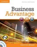 Lisboa, Martin, Handford, Michael - Business Advantage Advanced Student's Book with DVD - 9780521181846 - V9780521181846