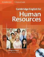 Sandford, George - Cambridge English for Human Resources Student's Book with Audio CDs (2) - 9780521184694 - V9780521184694