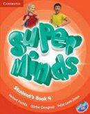 Puchta, Herbert, Gerngross, Günter, Lewis-Jones, Peter - Super Minds Level 4 Student's Book with DVD-ROM - 9780521222181 - V9780521222181