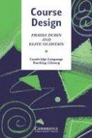 Dubin, Fraida; Olshtain, Elite - Course Design - 9780521276429 - V9780521276429