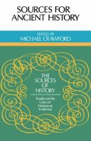 Crawford, Michael - Sources for Ancient History (Sources of History) - 9780521289580 - V9780521289580