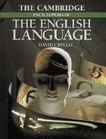Crystal, David - The Cambridge Encyclopedia of the English Language - 9780521401791 - KEX0261522