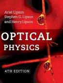 Lipson, Ariel, Lipson, Stephen G., Lipson, Henry - Optical Physics - 9780521493451 - V9780521493451