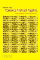 Lauritzen, Niels - Concrete Abstract Algebra: From Numbers to Gröbner Bases - 9780521534109 - V9780521534109