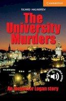 MacAndrew, Richard - The University Murders Level 4 (Cambridge English Readers) - 9780521536608 - V9780521536608