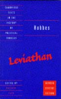 Hobbes, Thomas - Hobbes: Leviathan: Revised student edition (Cambridge Texts in the History of Political Thought) - 9780521567978 - V9780521567978