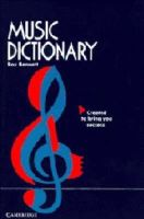Bennett, Roy - Music Dictionary - 9780521569309 - KCG0004046