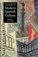 - The Cambridge Companion to Modern Spanish Culture - 9780521574297 - V9780521574297