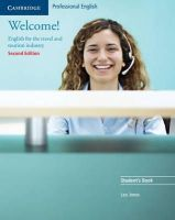 Jones, Leo - Welcome! Student's Book: English for the Travel and Tourism Industry - 9780521606592 - V9780521606592