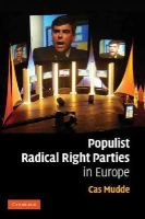 Mudde, Cas - Populist Radical Right Parties in Europe - 9780521616324 - V9780521616324