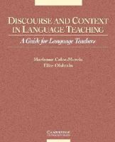 Celce-Murcia, Marianne; Olshtain, Elite - Discourse and Context in Language Teaching - 9780521648370 - V9780521648370