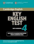 Cambridge ESOL - Cambridge Key English Test 4 Student's Book with Answers - 9780521670821 - V9780521670821