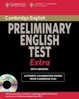 Cambridge ESOL - Cambridge Preliminary English Test Extra Student's Book with Answers and CD-ROM (PET Practice Tests) - 9780521676687 - V9780521676687
