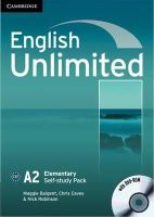 Baigent, Maggie; Cavey, Chris; Robinson, Nick - English Unlimited Elementary Self-study Pack (Workbook with DVD-ROM) - 9780521697743 - V9780521697743