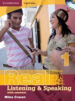 Craven, Miles - Cambridge English Skills Real Listening and Speaking 1 with Answers and Audio CD - 9780521701983 - V9780521701983
