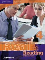 Driscoll, Liz - Cambridge English Skills Real Reading 4 with answers - 9780521705752 - V9780521705752