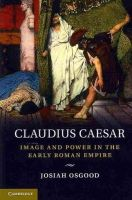 Osgood, Josiah - Claudius Caesar - 9780521708258 - V9780521708258