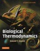 Haynie, Donald T. - Biological Thermodynamics - 9780521711340 - V9780521711340
