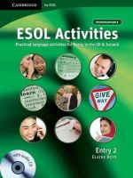 Boyd, Elaine - ESOL Activities Entry 2: Practical Language Activities for Living in the UK and Ireland - 9780521712392 - V9780521712392