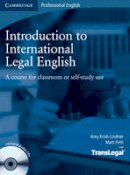 Krois-Lindner, Amy, Firth, Matt, TransLegal - Introduction to International Legal English Student's Book with Audio CDs (2): A Course for Classroom or Self-Study Use - 9780521718998 - V9780521718998