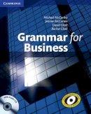 McCarthy, Michael, McCarten, Jeanne, Clark, David, Clark, Rachel - Grammar for Business with Audio CD - 9780521727204 - V9780521727204