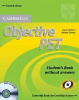 Hashemi, Louise, Thomas, Barbara - Objective PET Student's Book without Answers with CD-ROM - 9780521732680 - V9780521732680