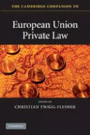 - The Cambridge Companion to European Union Private Law - 9780521736152 - V9780521736152