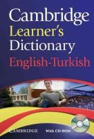 Not Available (NA) - Cambridge Learner's Dictionary English-Turkish with CD-ROM (Dictionary Book & CD Rom) - 9780521736435 - V9780521736435
