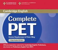 Heyderman, Emma; May, Peter - Complete PET Class Audio CDs (2) - 9780521741385 - V9780521741385