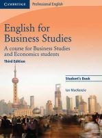 MacKenzie, Ian - English for Business Studies Student's Book: A Course for Business Studies and Economics Students (Cambridge Professional English) - 9780521743419 - V9780521743419