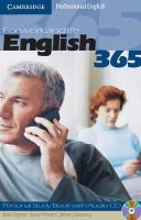 Dignen, Bob, Flinders, Steve, Sweeney, Simon - English365 1 Personal Study Book with Audio CD: For Work and Life (Cambridge Professional English) - 9780521753647 - V9780521753647