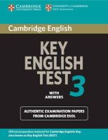 Cambridge ESOL - Cambridge Key English Test 3 Student's Book with Answers - 9780521754798 - V9780521754798