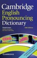 Jones, Daniel - Cambridge English Pronouncing Dictionary - 9780521765756 - V9780521765756