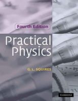 Squires, G. L. - Practical Physics - 9780521779401 - V9780521779401