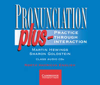 Hewings, Martin, Goldstein, Sharon - Pronunciation Plus Class Audio CDs - 9780521785228 - V9780521785228