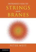 West, Peter - Introduction to Strings and Branes - 9780521817479 - V9780521817479