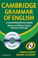 Carter, Ronald; McCarthy, Michael - Cambridge Grammar of English Hardback with CD ROM - 9780521857673 - V9780521857673