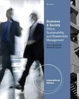Carroll, Archie B., Buchholtz, Ann - Business and Society: Ethics and Stakeholder Management - 9780538466769 - V9780538466769