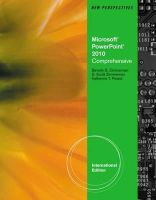 S. Scott Zimmerman - New Perspectives on Ms Office Powerpoint 2010: Comprehensive - 9780538470513 - V9780538470513