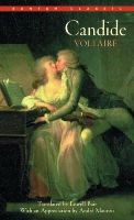 Voltaire, Bair, Lowell - Candide - 9780553211665 - KSC0002225