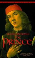 Machiavelli, Niccolo, Donno, Daniel John - The Prince - 9780553212785 - KEX0302738