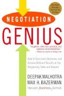 Malhotra, Deepak; Bazerman, Max H. - Negotiation Genius - 9780553384116 - V9780553384116