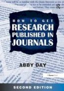 Abby Day - How to Get Research Published in Journals - 9780566088155 - V9780566088155