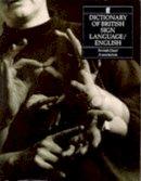 E. Scott- Gibson - Dictionary of British Sign Language - 9780571143467 - V9780571143467