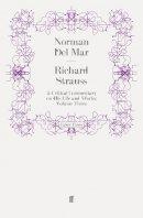 Del Mar, Norman - Richard Strauss - 9780571250981 - V9780571250981