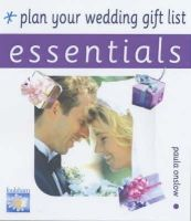 Paula Onslow - Plan Your Wedding Gift List - 9780572029623 - KHS0056023