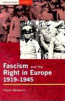 Blinkhorn, Martin - Fascism and the Right in Europe 1919-1945 - 9780582070219 - V9780582070219