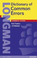 Turton, N D, Heaton, J B - Longman Dictionary of Common Errors - 9780582237520 - V9780582237520