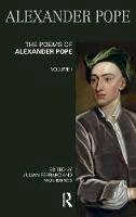 - The Poems of Alexander Pope: Volume One (Longman Annotated English Poets) (v. 1) - 9780582423411 - V9780582423411