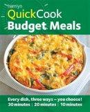 McAuley, Jo - Hamlyn Quickcook Budget Meals - 9780600623922 - KCG0004518
